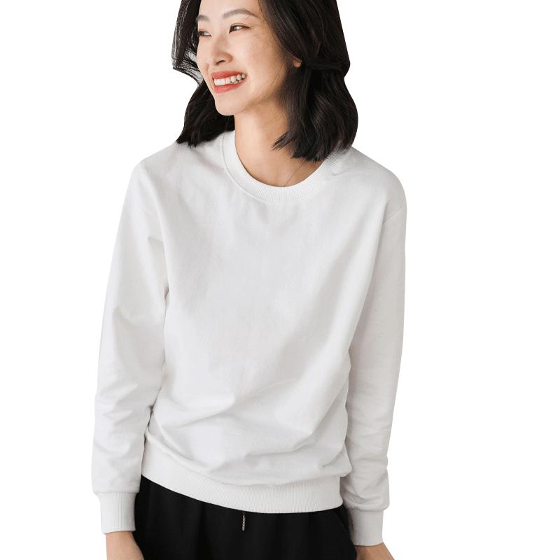 【龙范儿】秋季新款圆领卫衣女韩版