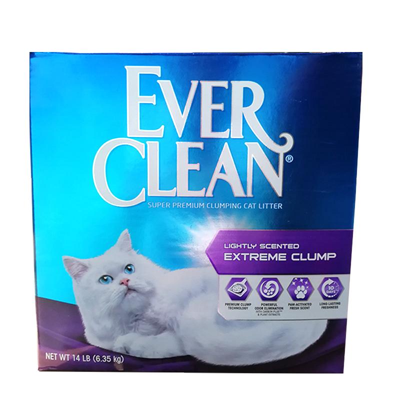 拍两件!蓝钻猫砂清香除臭菌低敏14磅