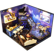 巧之匠diy小屋音乐酒吧手工制作房子模型拼装玩具创意生日礼物女