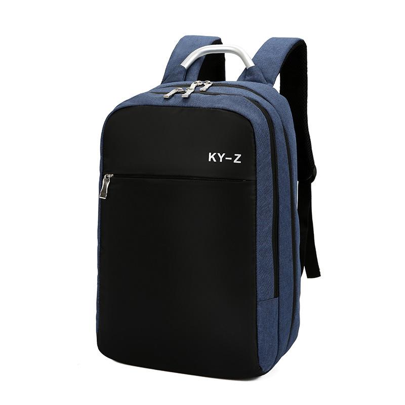 秋冬新款商务休闲双肩包男女背包学生书包电脑笔记本旅行包大容量