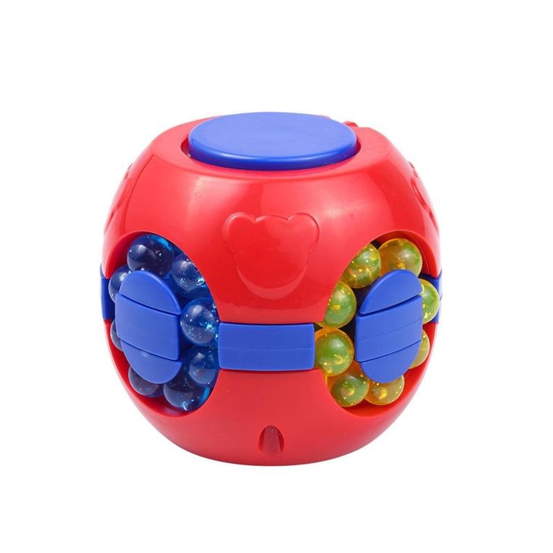 旋转魔方益智玩具智力开发汉堡手指尖陀螺儿童小魔豆礼物减压神器