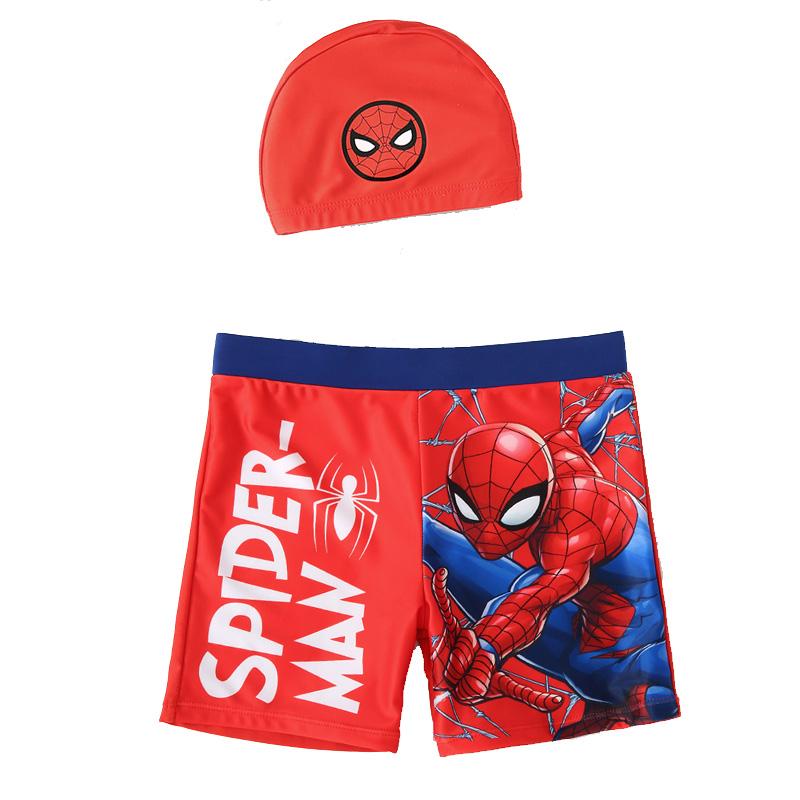 迪士尼儿童泳衣男童蜘蛛侠分体套装小中大童宝宝男孩温泉游泳裤