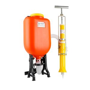 藤原播种器复合肥施肥器玉米种子载植器免耕工具多功能快速播种机