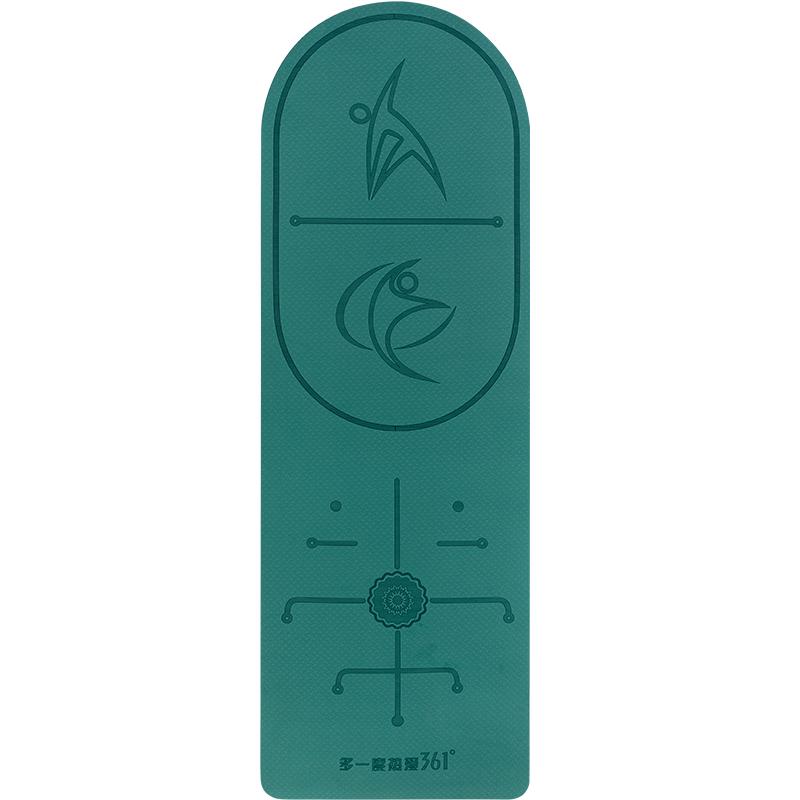 361跳绳垫子减震隔音家用室内静音防滑健身运动加厚加长瑜伽地垫