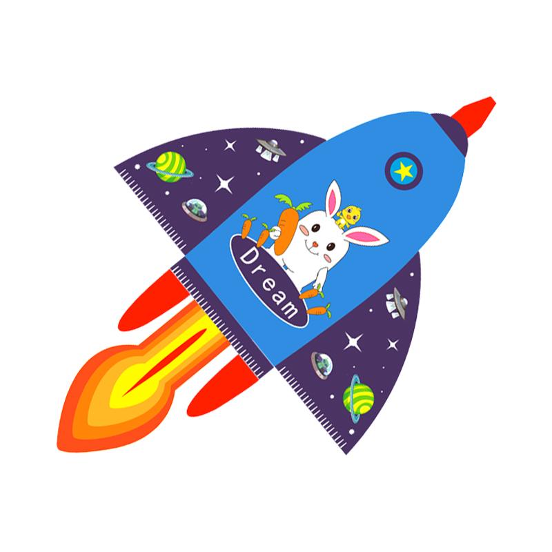 七彩翅膀新款儿童卡通风筝大人专用高档大型新手微风易飞草原翼龙