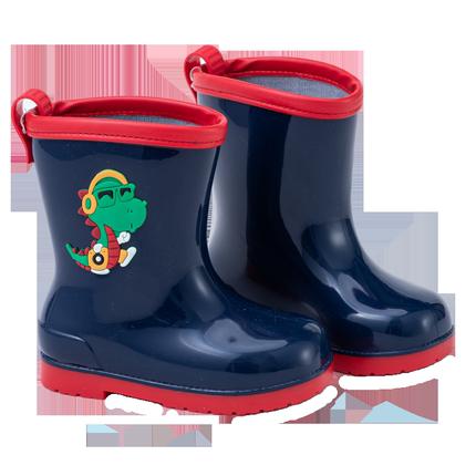 男童2-6岁可爱幼儿防滑四季水雨靴
