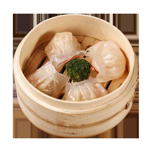 拍3件60枚虾饺水晶虾饺皇港式火锅