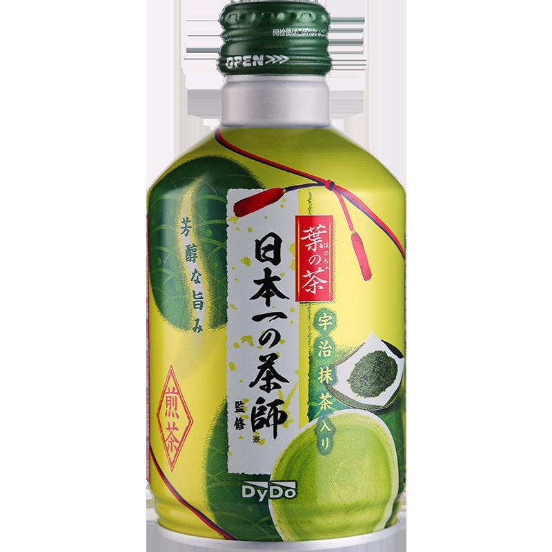 达亦多DyDo绿茶饮料 日本进口宇治抹茶即饮绿茶饮料275g整箱包邮