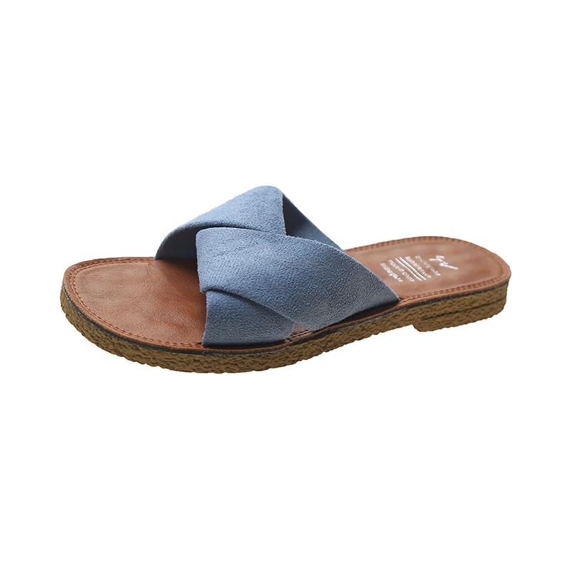 软底舒适拖鞋女夏外穿2020夏季新款厚底百搭孕妇平底ins凉拖鞋女