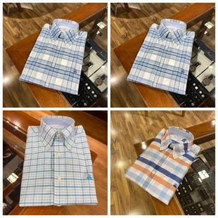 紐約大寶 Brooks Brothers/布克兄弟 冬男士格子休閒長袖百搭襯衫