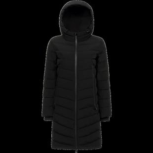波司登冬季立領時尚休閒外套中長款羽絨服女士保暖羽絨服