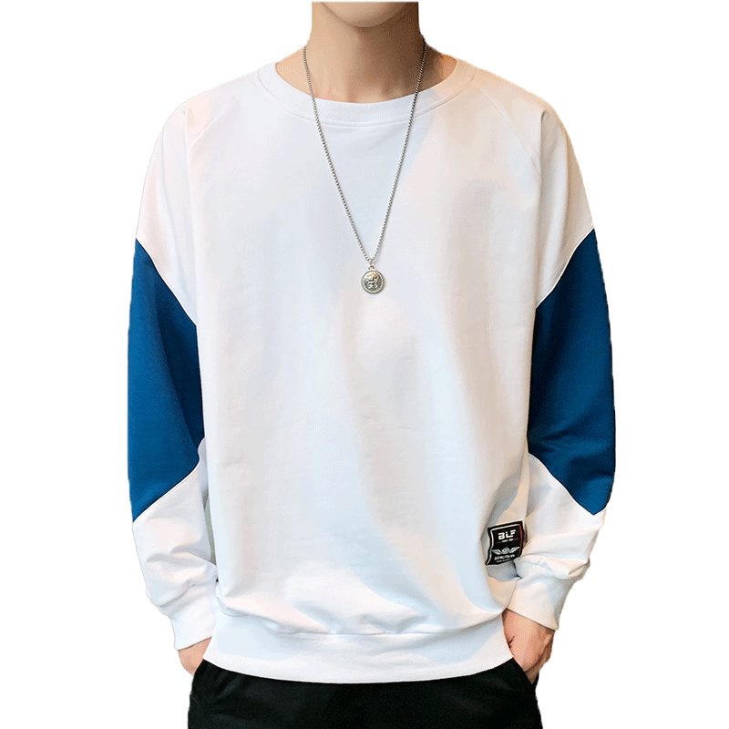 男韩版修身纯色青年上衣T恤男打底衫