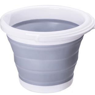 摺疊筒打水桶塑料家用洗車便攜式小洗澡美術儲水旅行車用釣魚臉盆