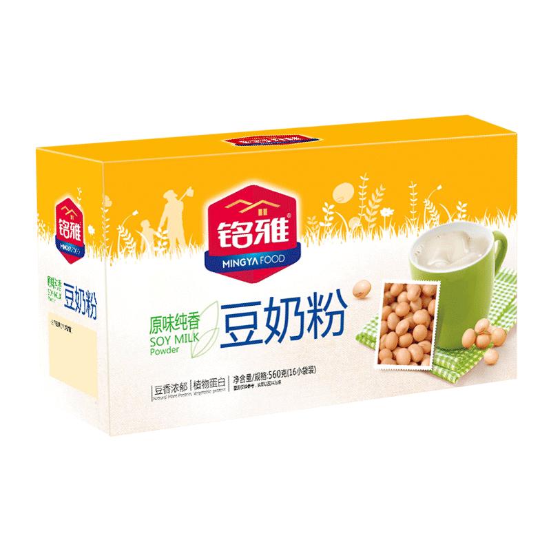 铭雅健康营养早餐560克/盒豆奶粉