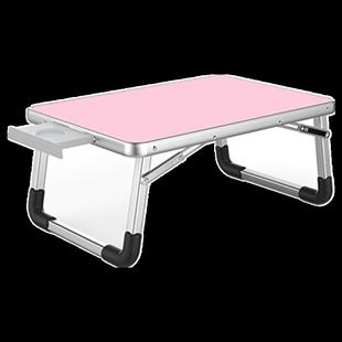 藍語筆記本電腦桌做牀上用小桌子懶人桌學生宿舍學習桌書桌摺疊桌