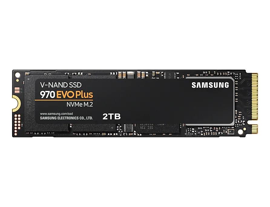 Samsung/三星 MZ-V7S2T0BW 970 evo plus M.2 NVMe固态硬盘2t