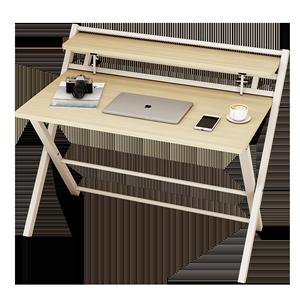 台式家用折叠桌子长条学生电脑桌