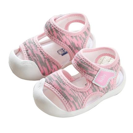 软底防滑男女宝宝学步0-1-2岁凉鞋