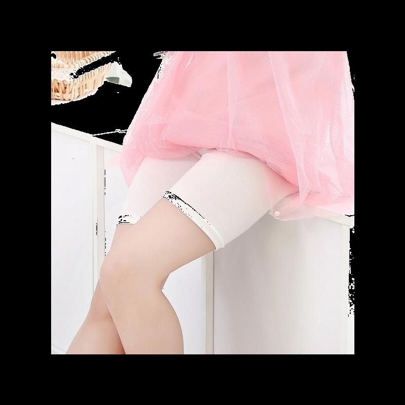 女童夏装薄款纯棉中大童子打底裤