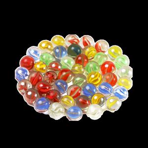 14mm玻璃球25mm玻璃珠玻璃珠子弹珠