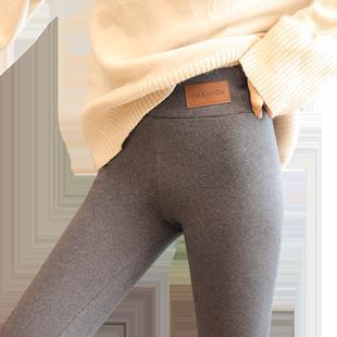外穿春秋灰色莫代尔棉秋裤打底裤