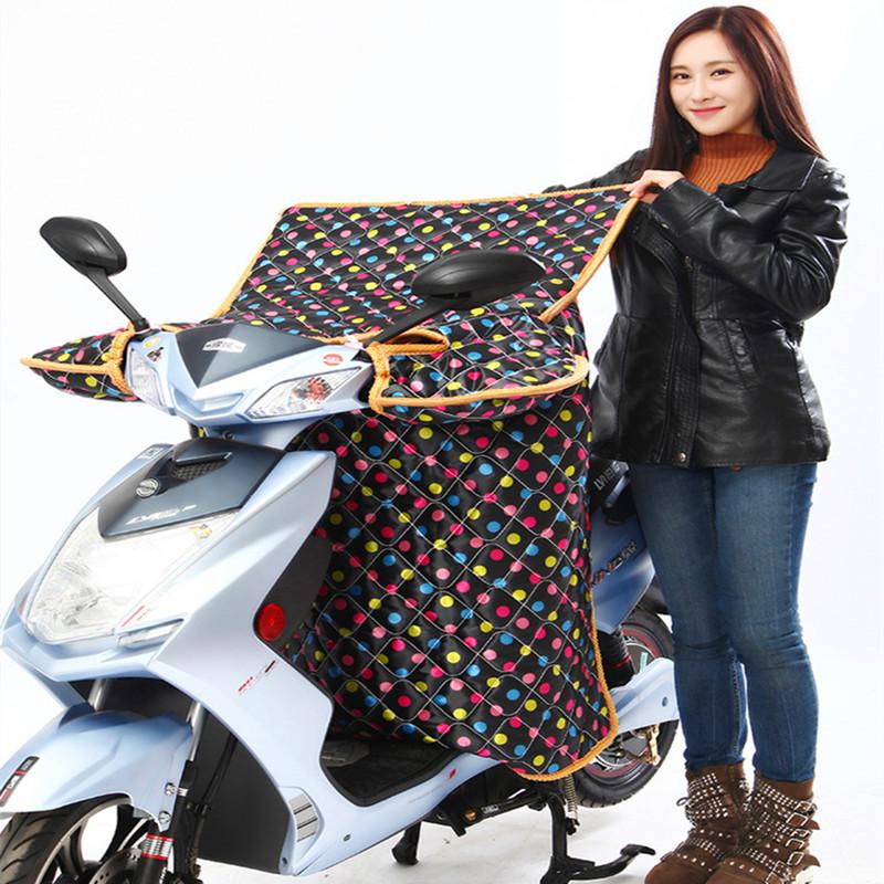 冬季电动挡通用型风被加绒加厚加大电瓶车自行车防晒罩衣女电车秋