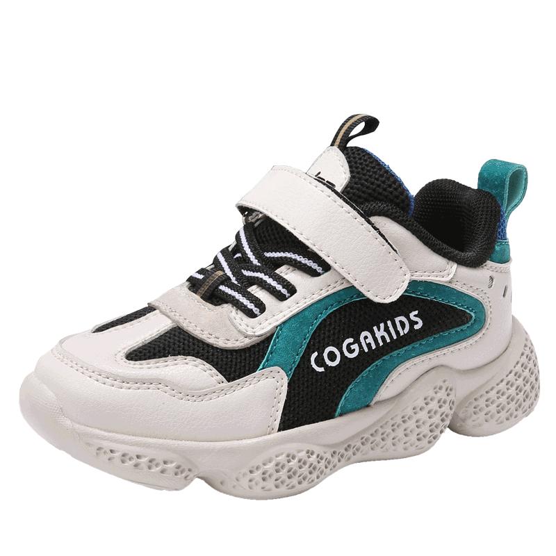 儿童鞋子男童运动鞋2020春款潮小童老爹宝宝女童春秋透气网面网鞋