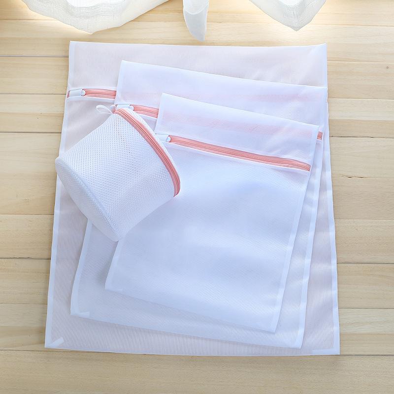 2个新款藕粉机洗毛衣护洗袋洗衣袋舒米厂家直销70克加厚细网网袋
