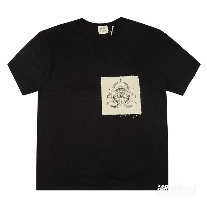 【现货】CLOT X FRAGMENT X INNERSECT展会限定三方联名短袖T恤男
