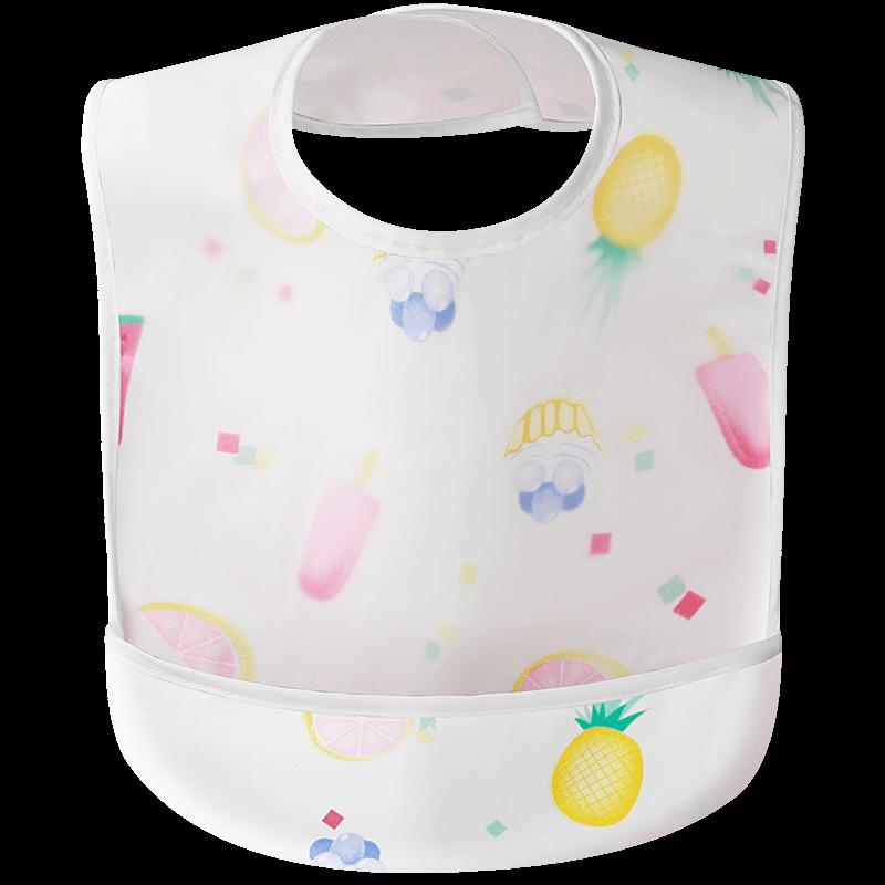 宝宝吃饭围兜防水防脏