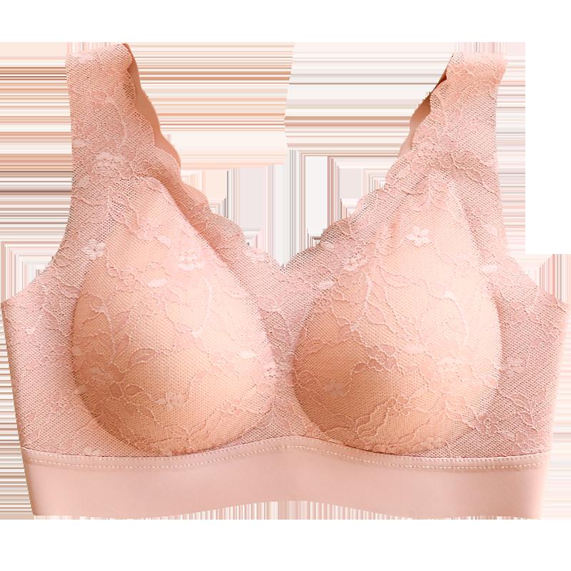 xiaolianmei/小靓美运动内衣女天然乳胶文胸泰国正品胸罩大胸显小