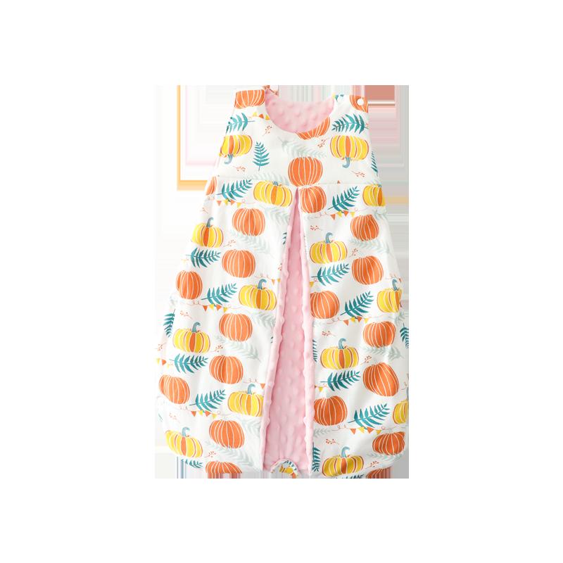 婴爱婴儿睡袋四季宝宝防踢被薄款