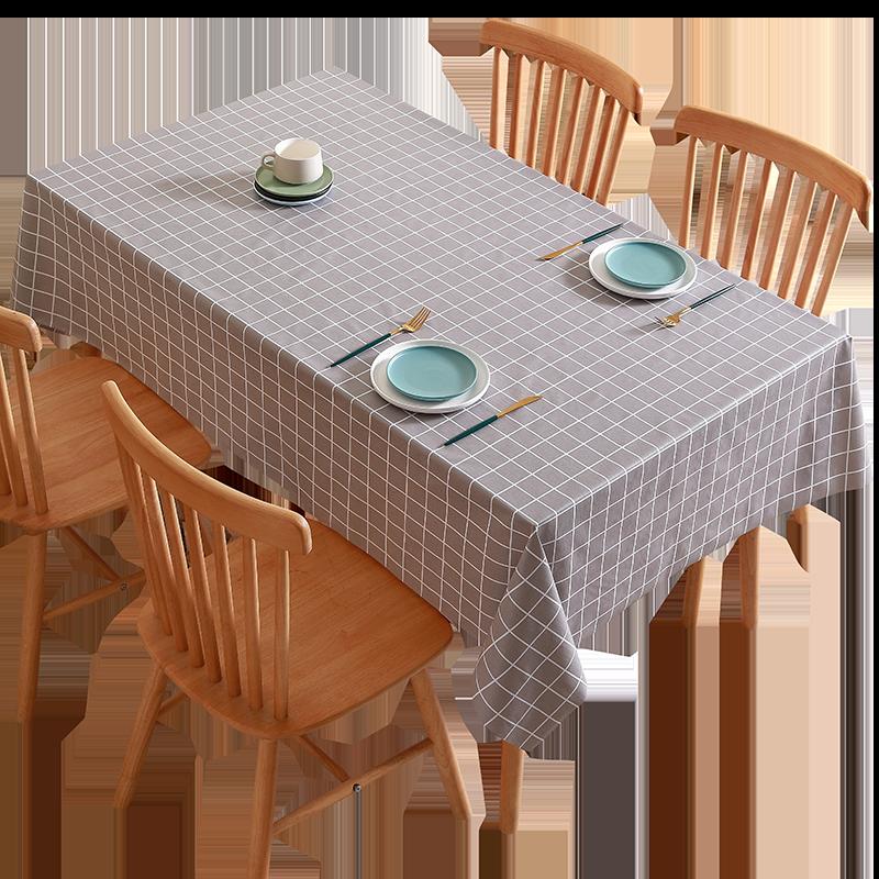 北欧防水防油免洗桌布