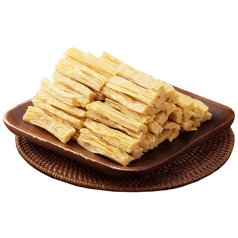 腐竹干货纯正手工特级许昌头层腐竹凉拌火锅黄豆干鲜腐竹500g食材