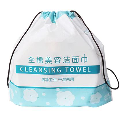 棉柔巾一次性洗脸巾纯棉卷筒式巾纸