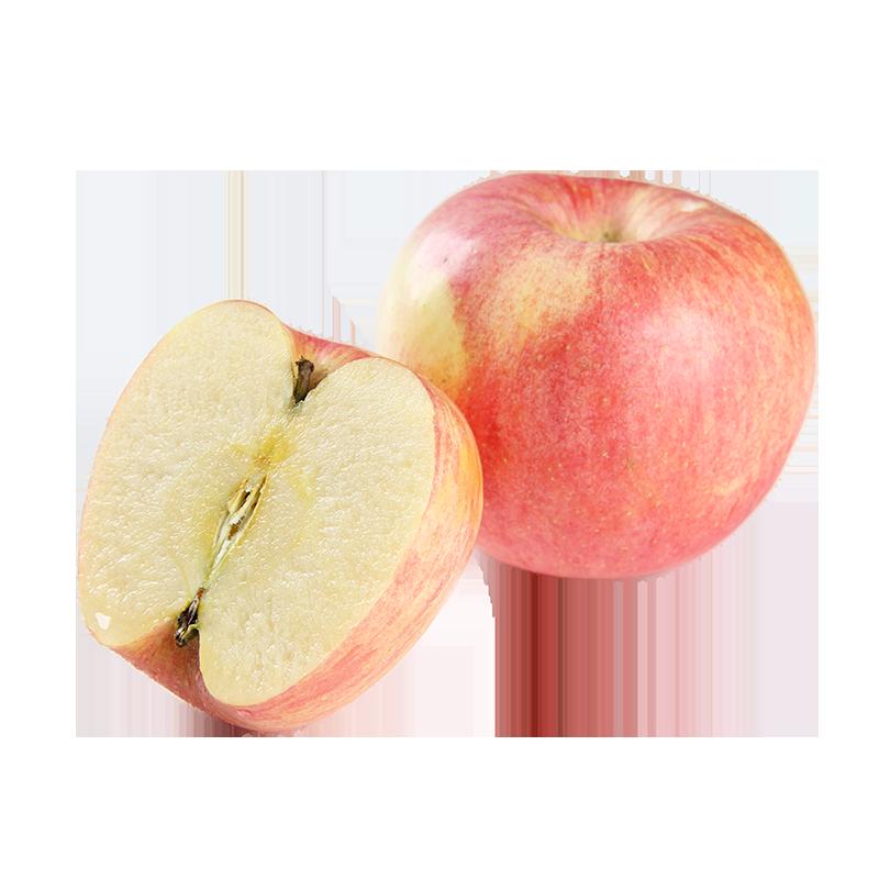 天然红富士苹果带箱5斤