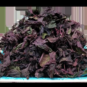 颜风紫苏叶新鲜食用可泡茶100g干货