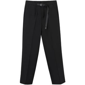 夏季垂感九分西裤男宽松直筒裤子