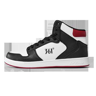 361運動鞋男春秋款高幫板鞋aj1男鞋正品腳趾運動鞋361鞋男板鞋