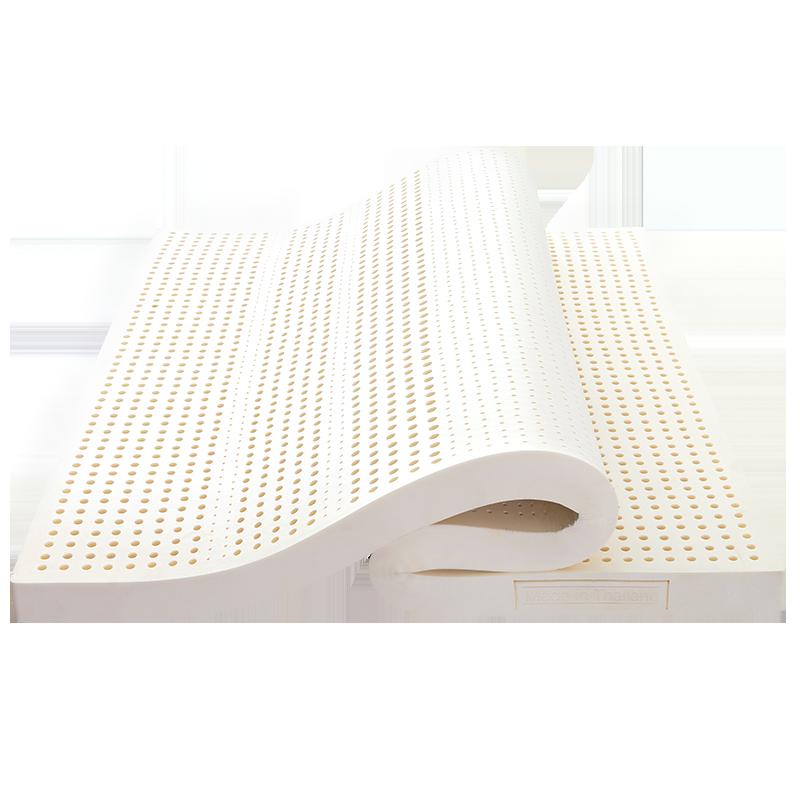 天然泰国原装进口橡胶纯床乳胶床垫用后一周告诉大家实情感受