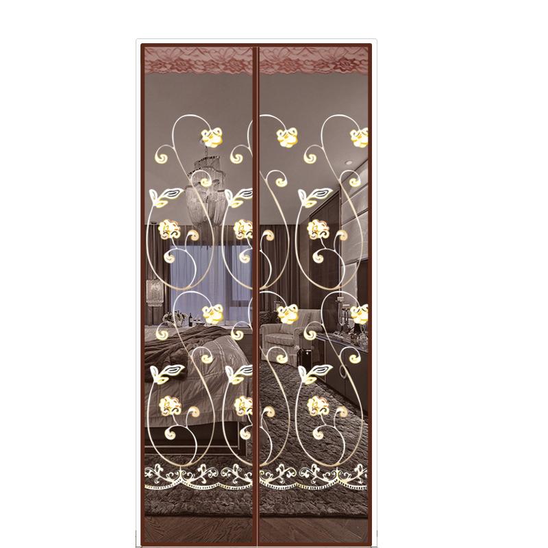 夏季吸铁石家用强力磁块纱门夏天防蚊蝇虫卧室隐私自吸魔术贴门帘