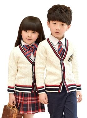 男童女童装春秋冬装英伦幼儿园