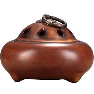 小香爐家用陶瓷創意盤香爐禪意茶道薰香沉香檀香爐室內香薰爐擺件