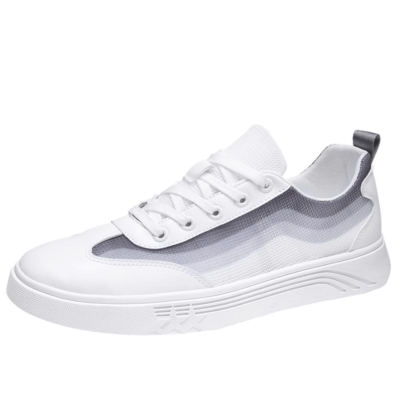 夏季潮鞋2020新款透气网布白鞋
