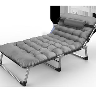 樂之元辦公室午休牀摺疊躺椅行軍單人懶人靠背沙灘陪護孕婦午睡椅