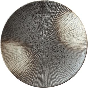 創意盤子日式網紅圓形大號陶瓷餐具餐盤菜盤家用個性西餐盤牛排盤