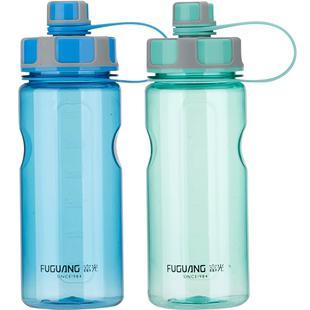 富光大容量塑料水杯1000ML便攜過濾太空杯大號户外運動水壺2000ML