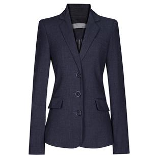 小個子灰色短款西裝外套女設計感小眾2020春秋新款歐貨潮修身西服