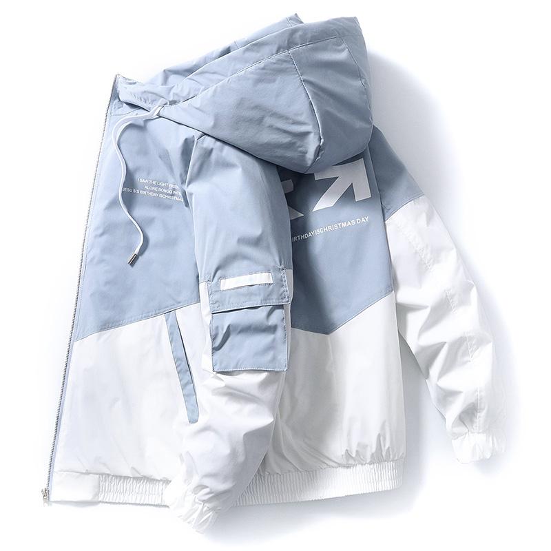 外套男士韩版牛仔工装夹克衫休闲秋装上衣服