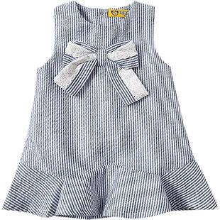 虧本清倉 寶寶連衣裙0-1歲嬰兒裙子夏裝洋氣吊帶裙女童韓版公主裙